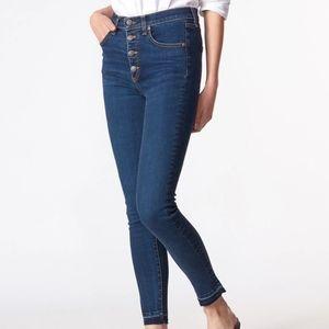 Veronica Beard Debbie High-Rise Skinny Jean
